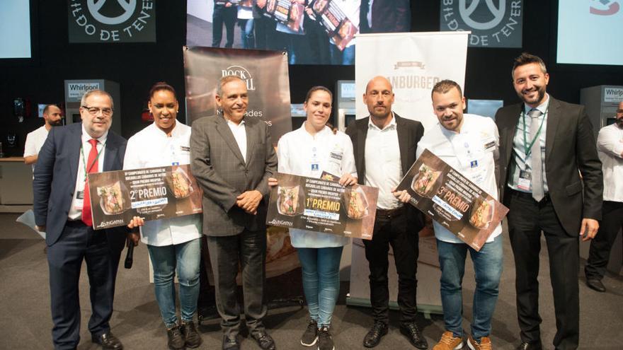 Esther Díaz gana el Campeonato de Canarias de Bocadillos de Autor