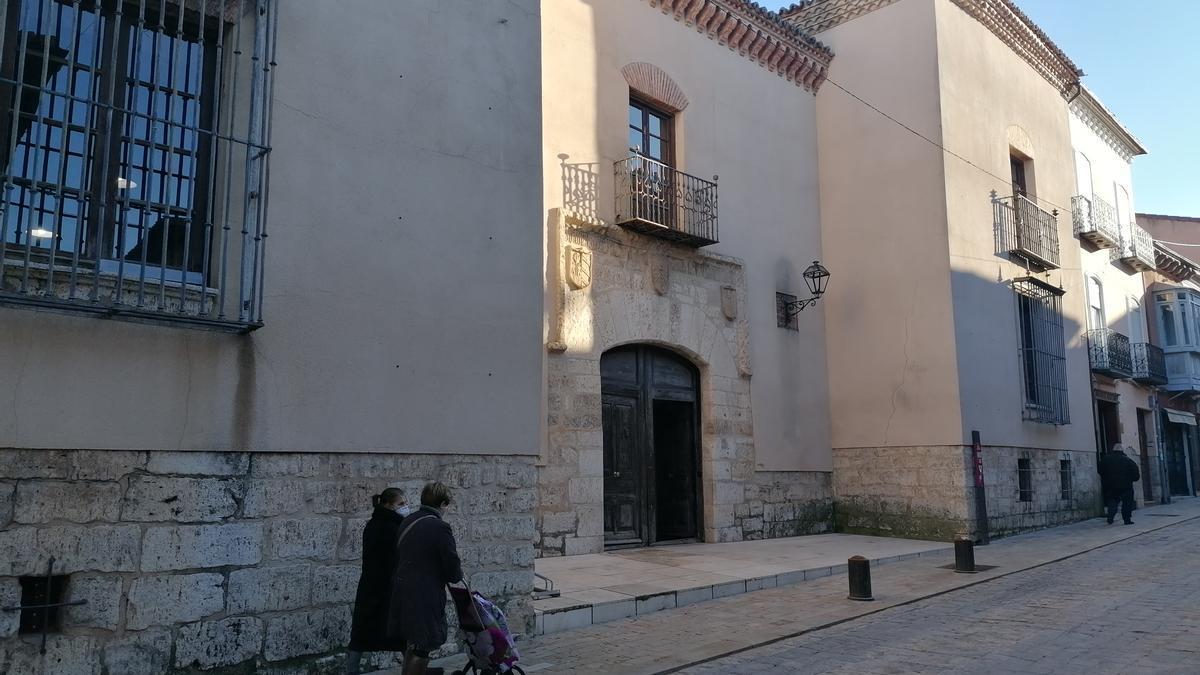 Casa Municipal de Cultura, en la calle Corredera de Toro
