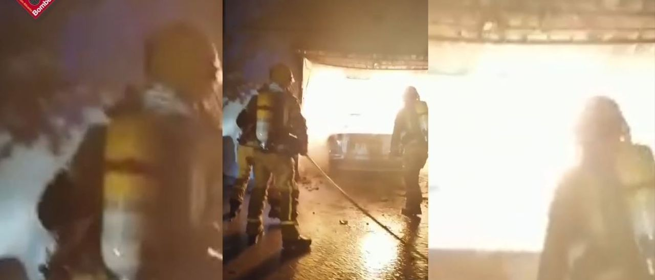 Asistidas dos personas por inhalación de humo en un incendio en Orihuela