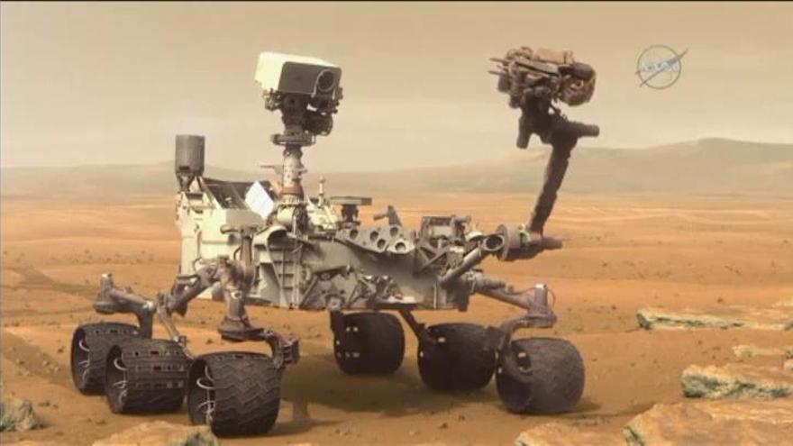 La NASA halla moléculas orgánicas de 3.000 millones de años en rocas de Marte