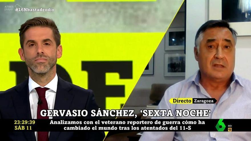 """Gervasio Sánchez, indignado con el trato que recibió Ricardo Ortega como corresponsal: """"Se comportaron con él vergonzosamente"""""""