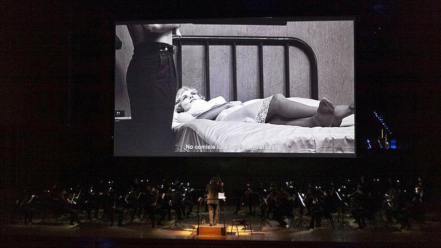 """Los violines chirrían en el Auditorio al ritmo de """"Psicosis"""""""