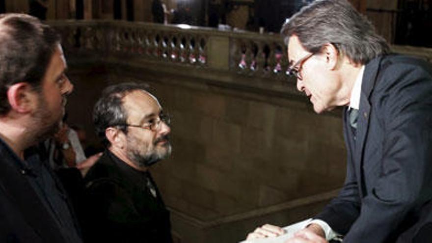 Artur Mas ofrece a la CUP la formación de un Gobierno 'coral' para lograr la investidura