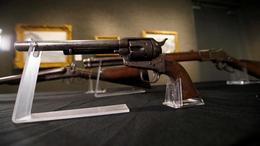 A subasta la pistola que mató a Billy el Niño en 1881
