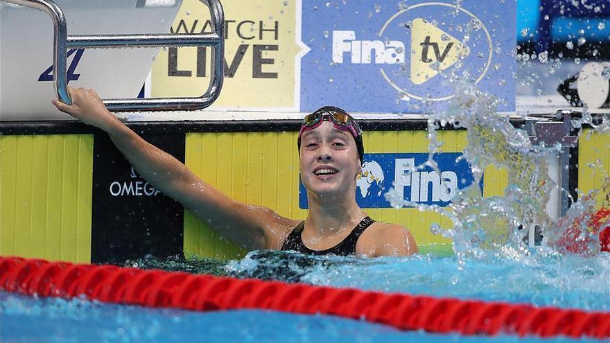 Alba Vázquez suma una nueva medalla en los Mundiales júnior de natación