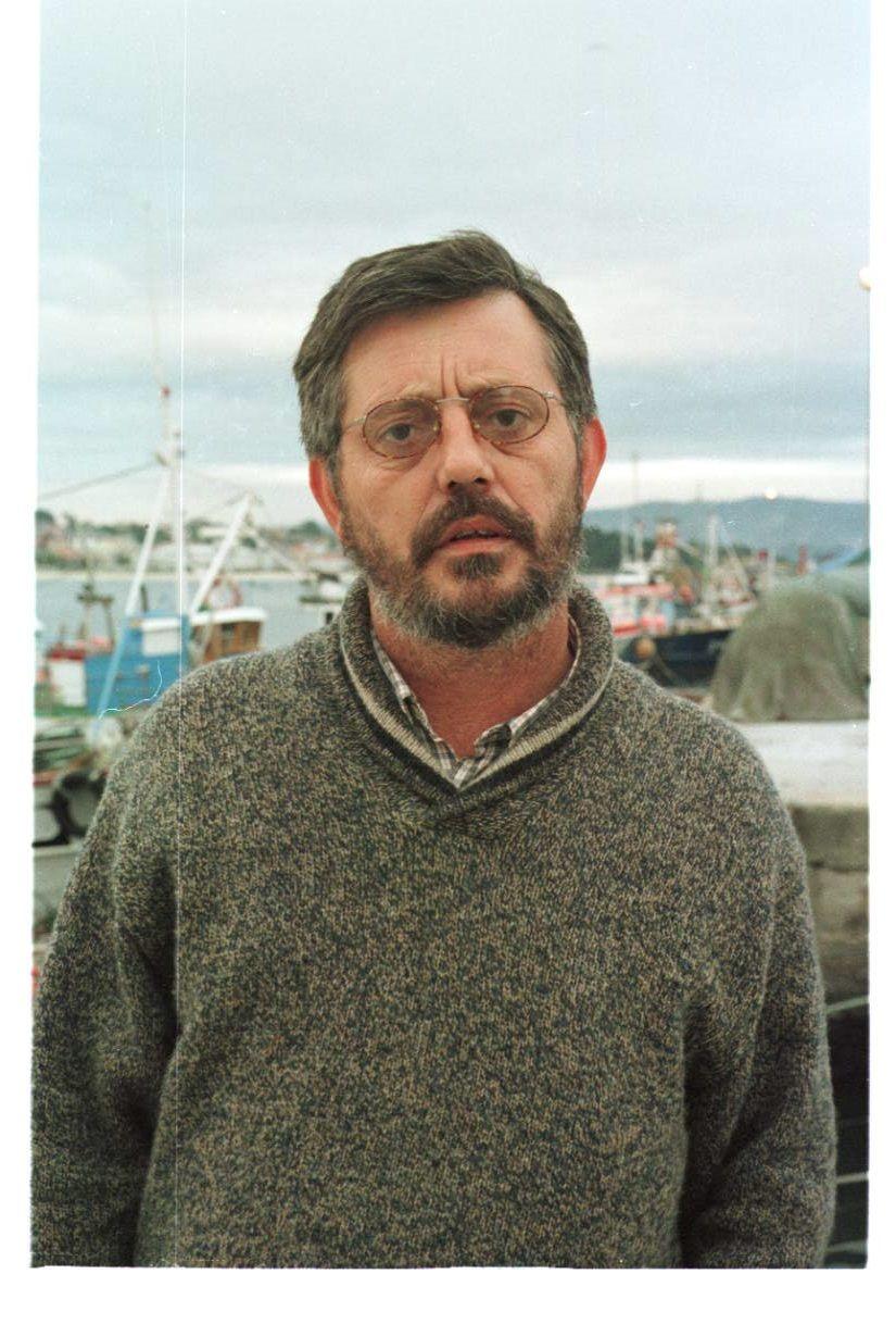 Pazos, como diputado de Esquerda Galega en 1998