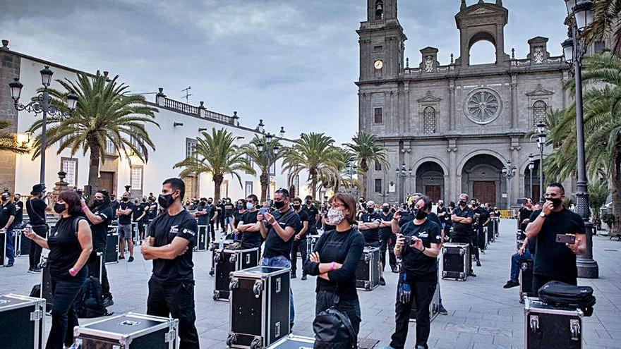 """El Clúster Canario de la Música reclama medidas al Gobierno ante la """"agonía"""" del sector"""