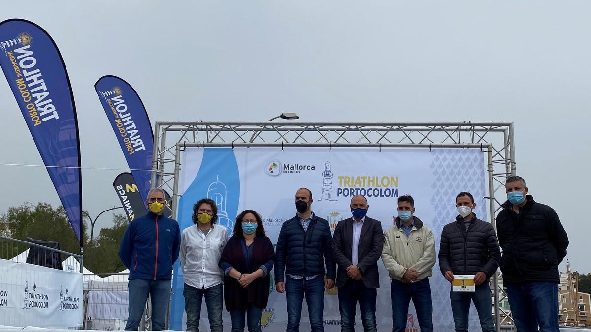 El Triathlon de Portolom se ha presentado hoy sábado