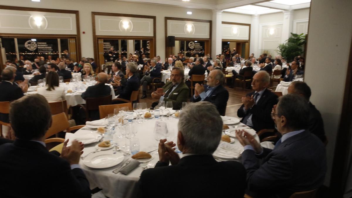 Entrega del Premio Álvarez Margaride a José Cardín
