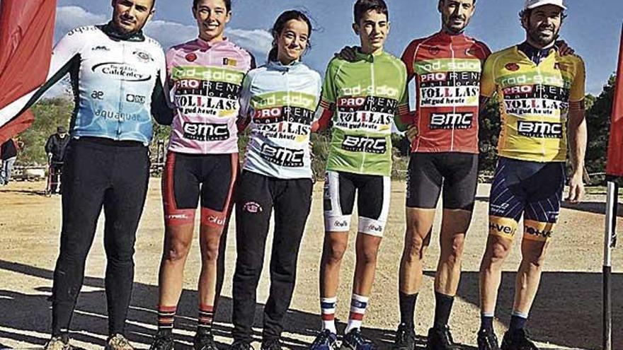 Miquel Ferrer y Javi Salmerón mandan en Can Picafort