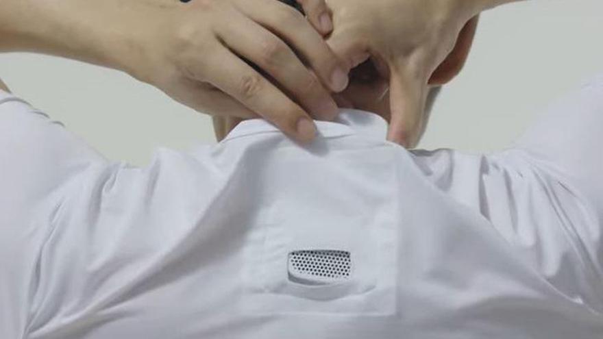 Sony llança un «wearable» per a portar aire condicionat a la roba