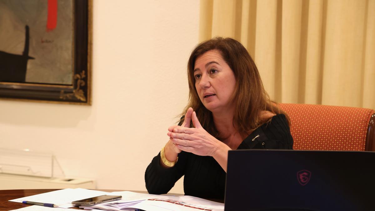La presidenta Francina Armengol.
