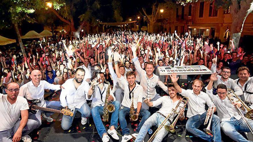 Die Malocher von den Dorffesten auf Mallorca