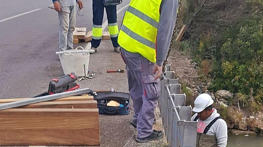 Formentera paraliza unas obras sin licencia en la acequia de s'Estany Pudent