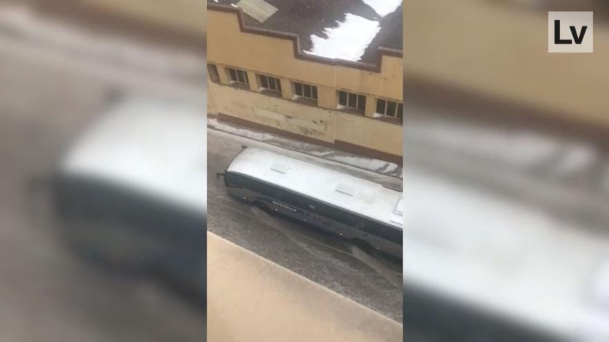La tormenta descarga granizo en Alcora
