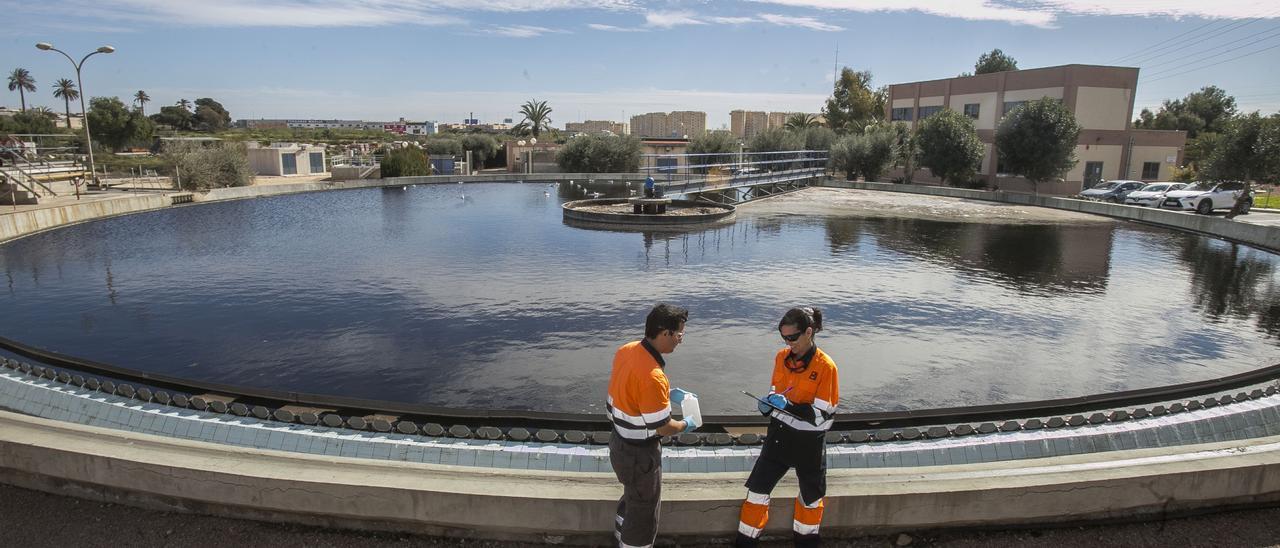 Imagen de archivo de la depuradora de Rincón de León