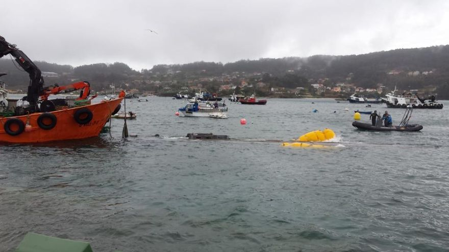 Narcotráfico en Galicia: el narcosubmarino atraca en Aldán