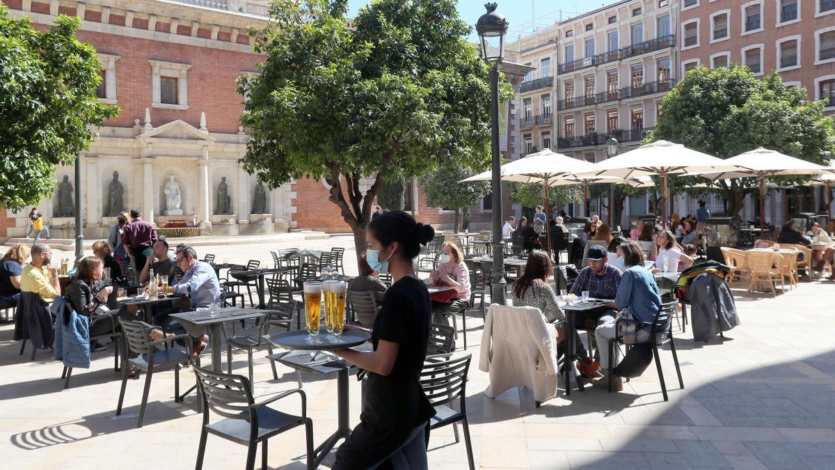 Estas son las restricciones para hostelería en la Comunitat Valenciana. Imagen de archivo.