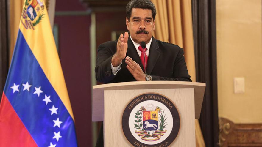 Maduro atribuye a Colombia el atentado contra él