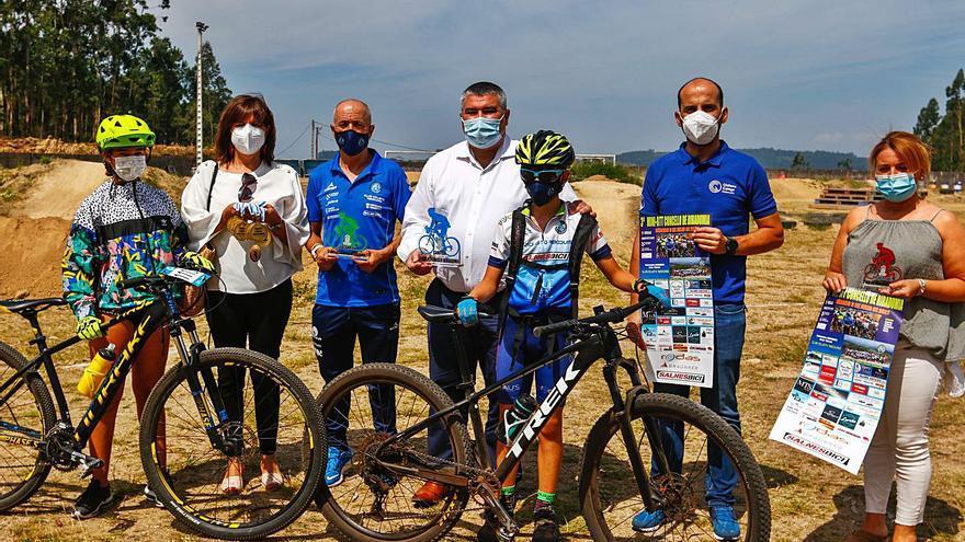 La III Mini BTT citará mañana en Ribadumia a casi 400 ciclistas