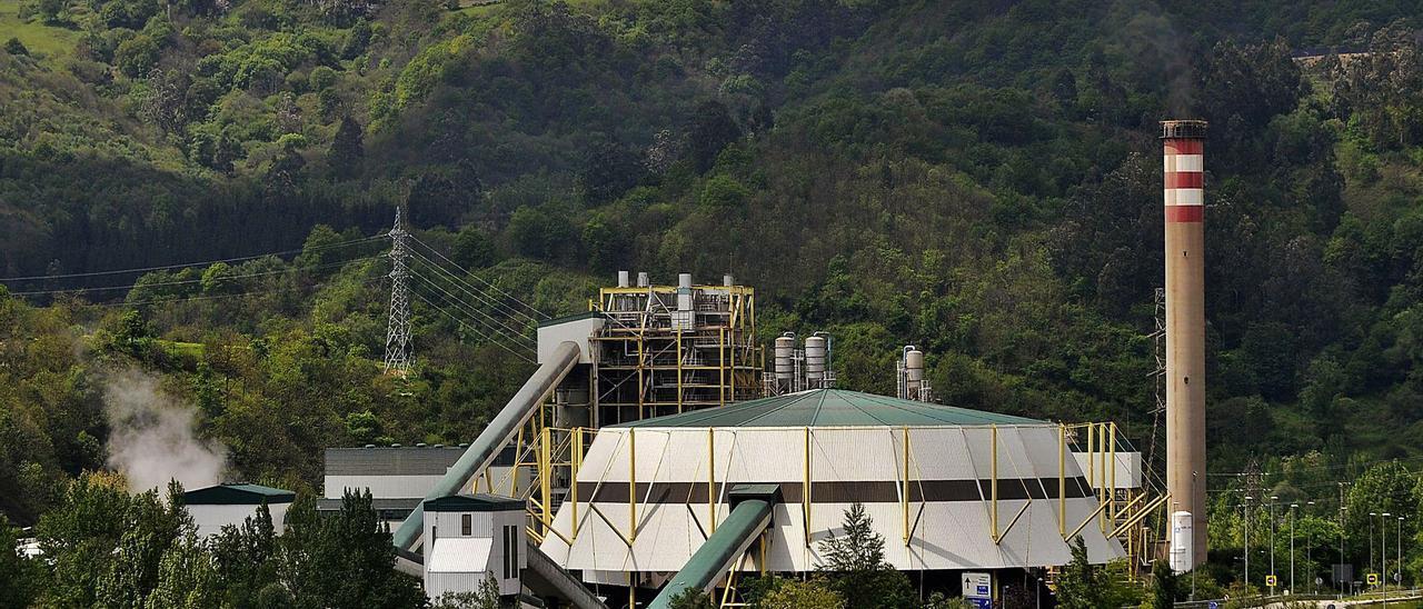 La central térmica de La Pereda.