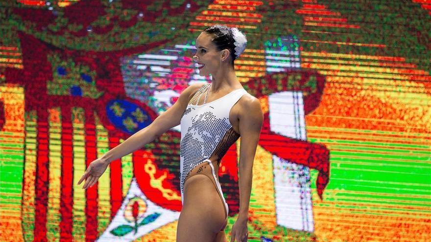 Ona Carbonell debuta en Corea con una segunda plaza en la preliminar de solo técnico