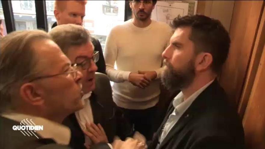 Abren una investigación al líder de Francia Insumisa por altercados en su sede