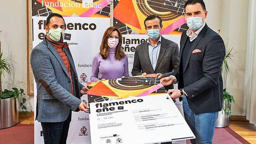 Muestra flamenca para profesionales en Cartagena