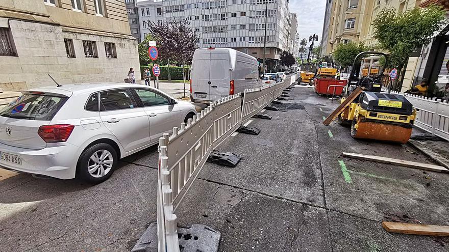 Fontán abre al tráfico y cierran Notariado y Federico Tapia por obras de pluviales