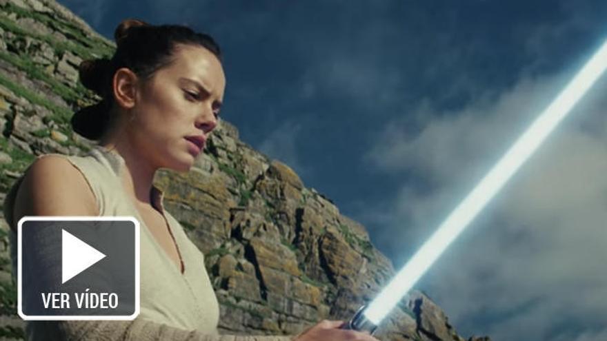 Llega a los cines 'Stars Wars: los últimos Jedi'