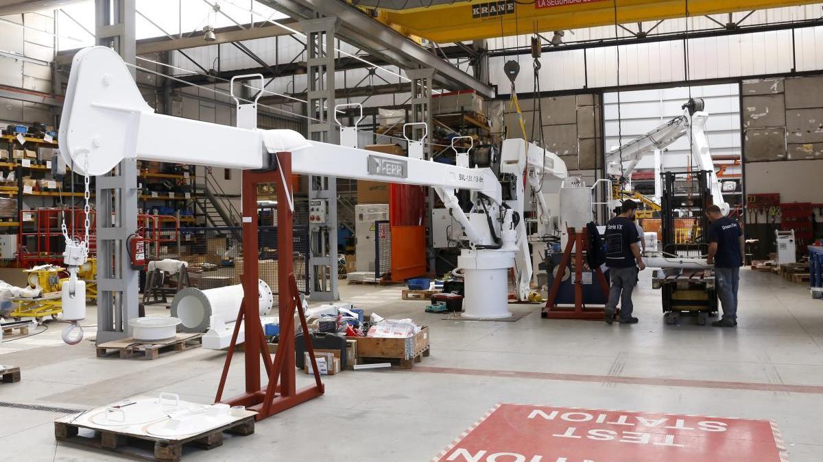 Instalaciones de Industrias Ferri, en una foto de archivo. // Ricardo Grobas