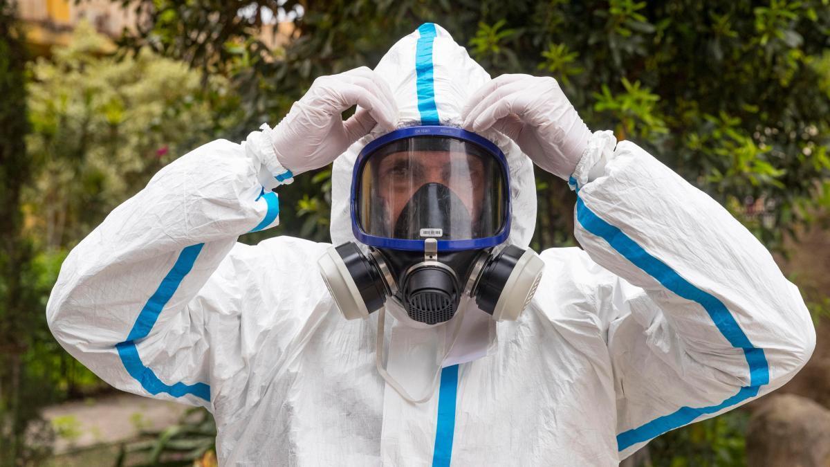 El biólogo y gerente de una empresa especializada en desinfección José María Vaquero.