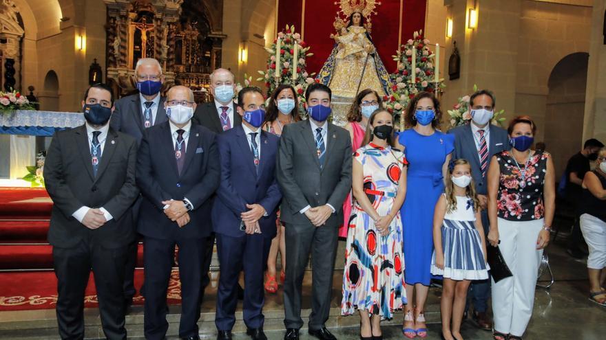 Misa en honor de la Patrona de Alicante, la Virgen del Remedio