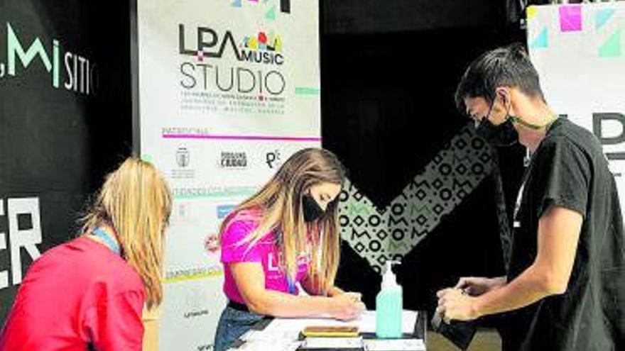 'LPA Music Market' reúne  a una veintena de artistas  y bandas locales en Miller