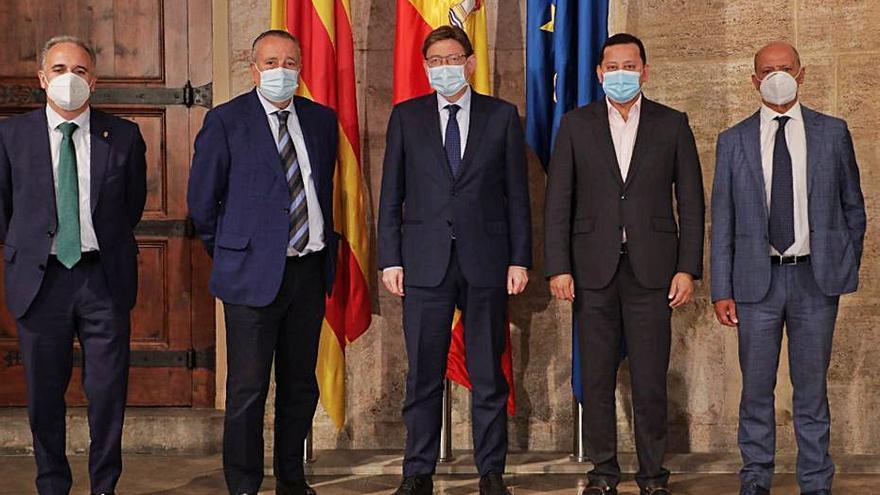El Consell supedita el aforo en estadios a la evolución de la pandemia y las vacunas