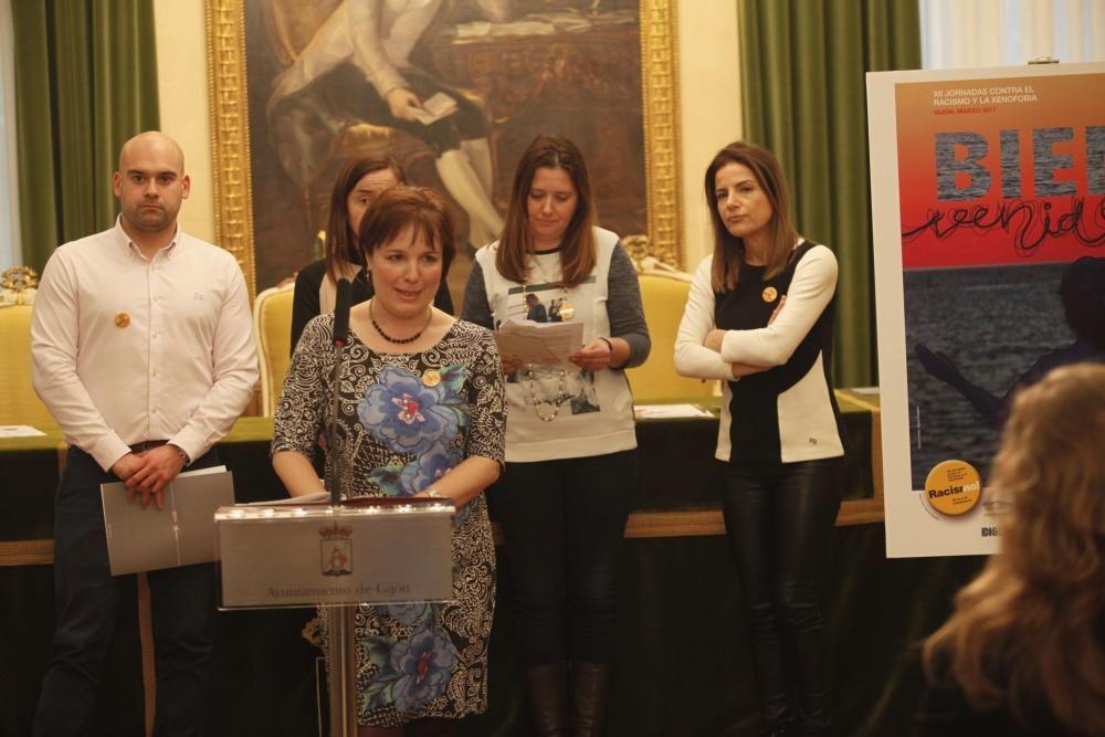 Presentación de las Jornadas contra el racismo y la xenofobia, así como los carteles ganadores