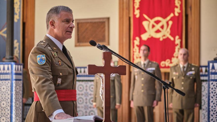 Toma posesión el nuevo jefe del Estado Mayor del Mando de Canarias