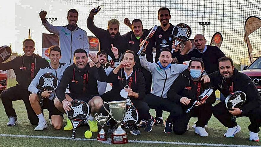 El Argentum Padel, campeón de España