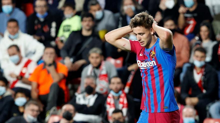 El Barça no puede con Falcao y cae en Vallecas