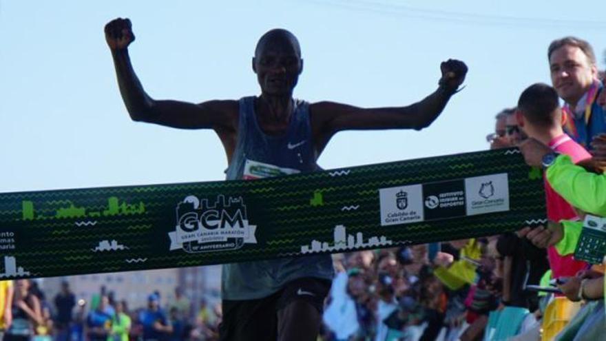 Cajasiete Gran Canaria Maratón 2019 | Llegada de ganadores de 42k