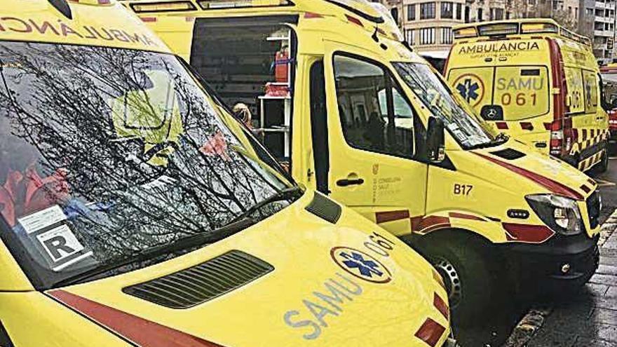 Herido un obrero en un accidente laboral en Son Vida