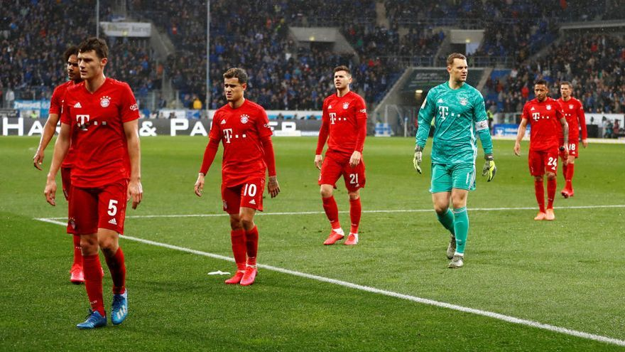 'Huelga' en el campo contra los ultras en la Bundesliga