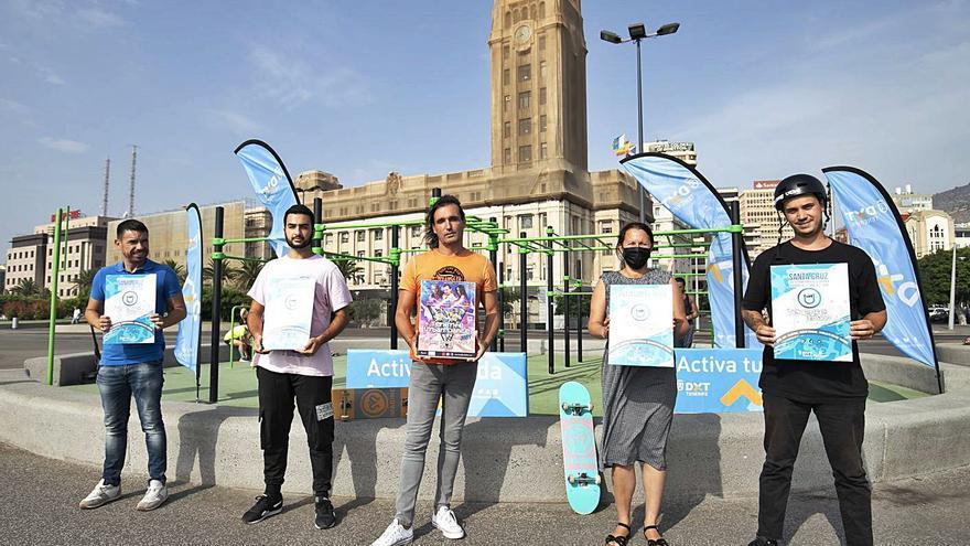 El plan 'Tenerife Urbano' fomenta entre los jóvenes modalidades no federadas