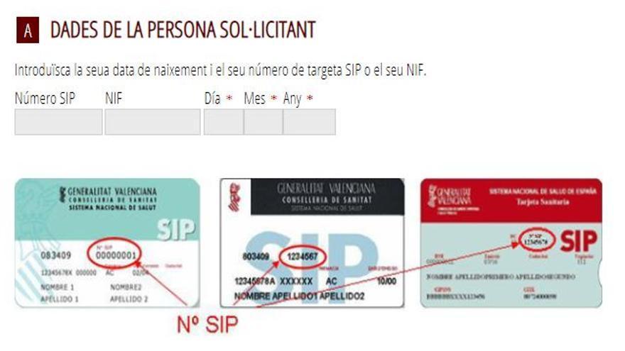 Recuerda que debes actualizar los datos de la tarjeta SIP para recibir la llamada de la vacuna contra el covid