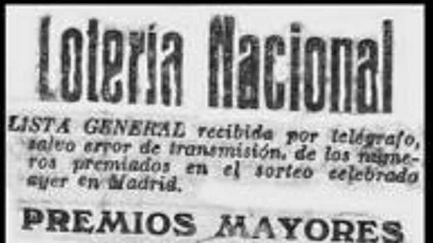 Alegria valenciana en la loteria de nadal de 1919