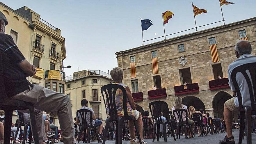 L'Ajuntament, satisfet amb la festa major de la covid, que va atraure 8.000 persones