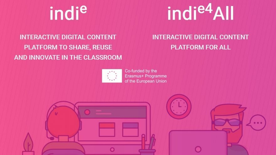 La plataforma educativa INDIe, finalista del premio internacional IMS Global Learning Impact 2021
