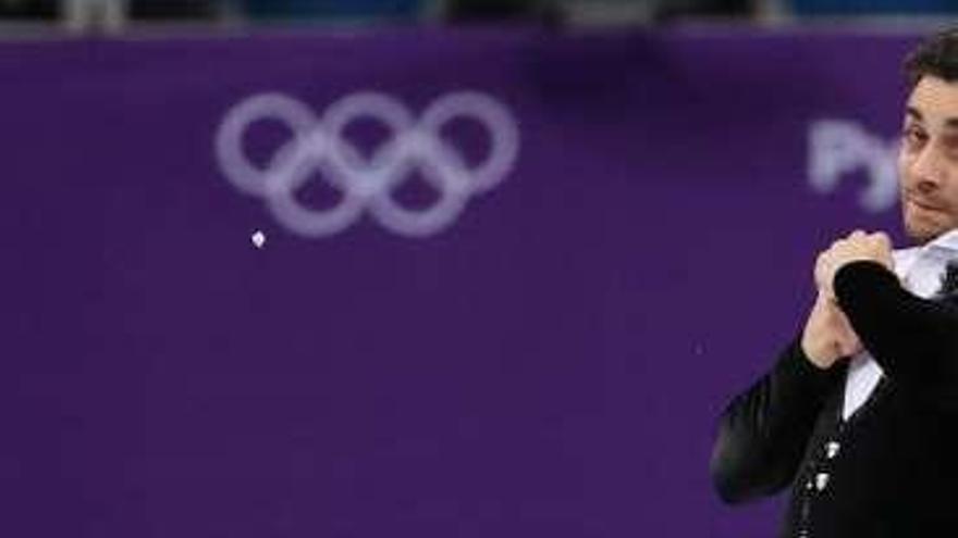 Javier Fernández apuntala sus opciones de medalla