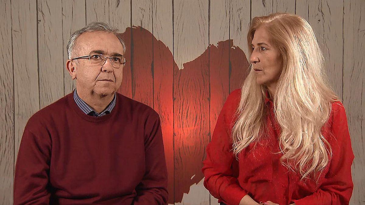 Antonio y Rosa a 'First Dates'