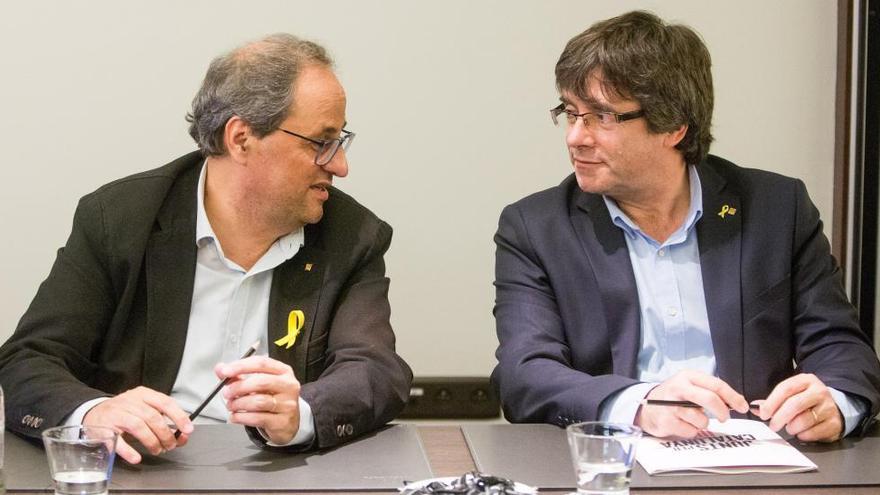 El Govern espanyol creu que «Torra hauria d'anar al Parlament abans del Congrés»